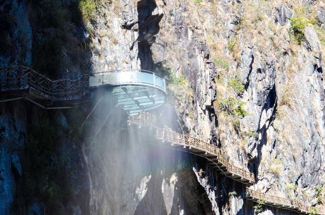 Stone Gate Pass in Yangbi County, Dali-03
