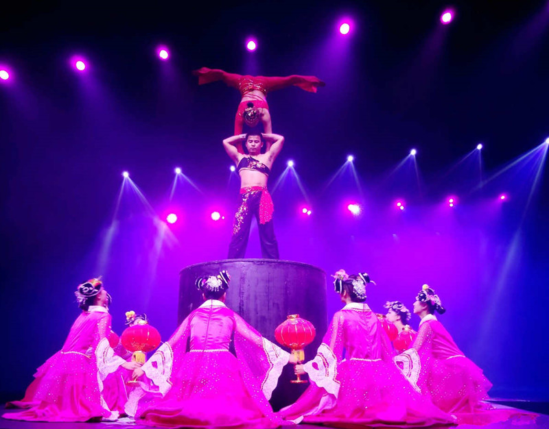 The Legend of Romance Show and Songcheng Theme Park in Lijiang
