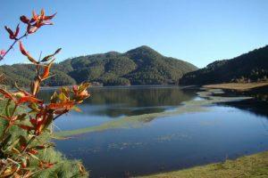 Tianchi Lake or Heavenly Lake in Yunlong County, Dali