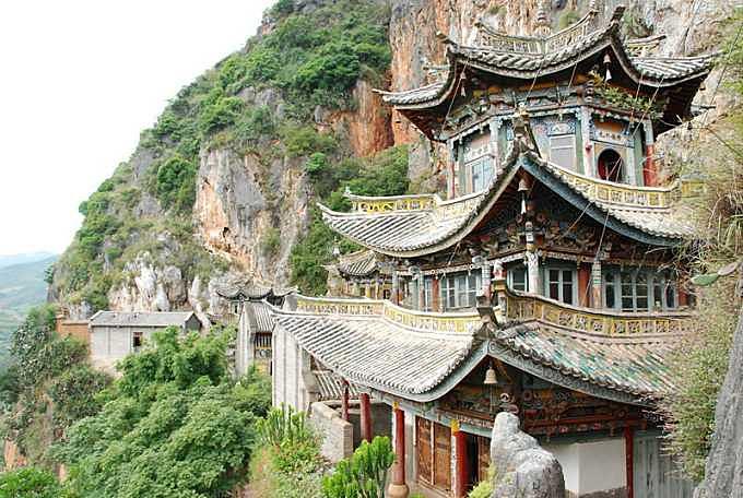Tianhuashan Mountain in Xiangyun County, Dali-02
