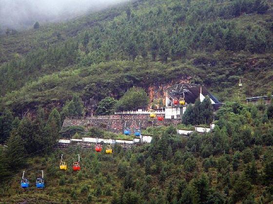 Tianlongdong Cableway of Cangshan Mountain in Dali City-012