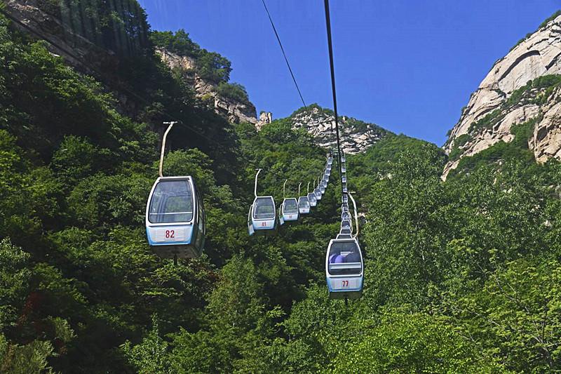 Tianlongdong Cableway of Cangshan Mountain in Dali City-03