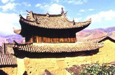 Tomb of Deng Xuexian in Mengzi City, Honghe