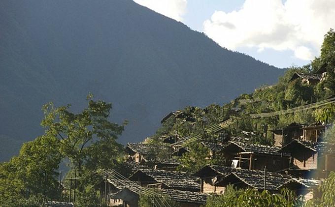 Tongle Dacun Village of Yezhi Town in Weixi County, Diqing