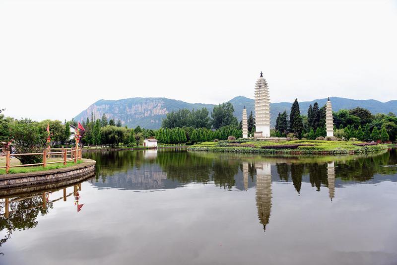 Village of Bai Ethnic Minority in Yunnan Ethnic Villages, Kunming