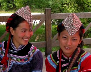 Village of Hani Ethnic Minority in Yunnan Ethnic Villages, Kunming