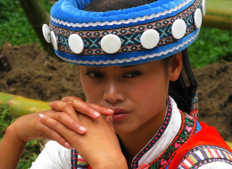 Village of Lisu Ethnic Minority in Yunnan Ethnic Villages, Kunming