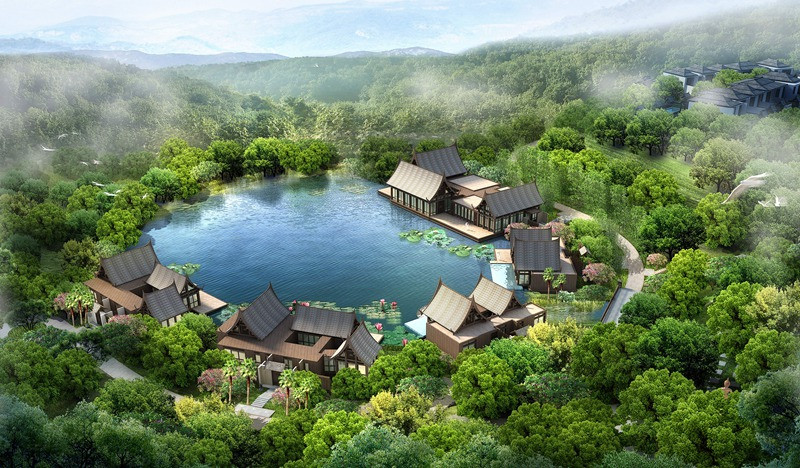Wanda XishuangBanna International Resort in Jinghong City