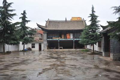 West Tuzhu Temple in Xuanwei City, Qujing