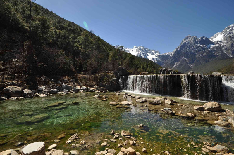 White Water River in Lijiang