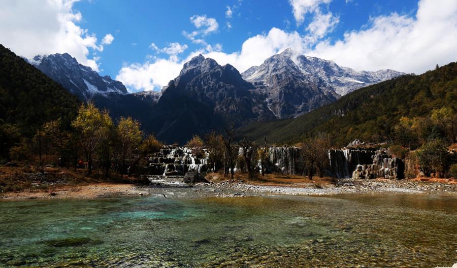 White Water River (Baishuihe) in Lijiang