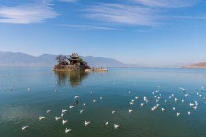 Xiao (Little) Putuo Island of Erhai Lake in Dali