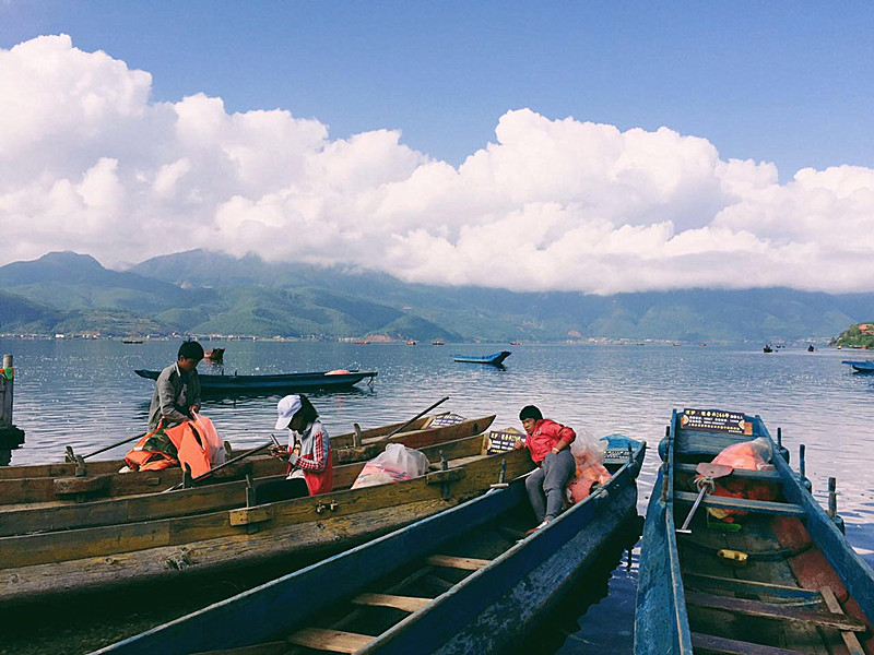 Zhudi Village of Lugu Lake, Lijiang