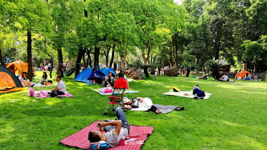 Xihua Park in Kunming