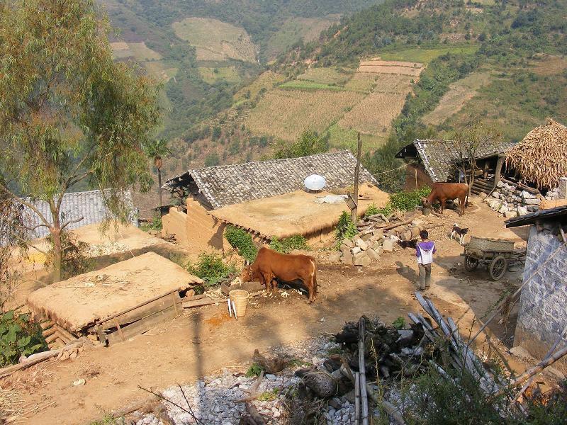 Xindian Yi Ethnic Town of Qiubei County in Wenshan Prefecture