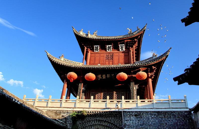 Xinggong Tower in Weishan County, Dali