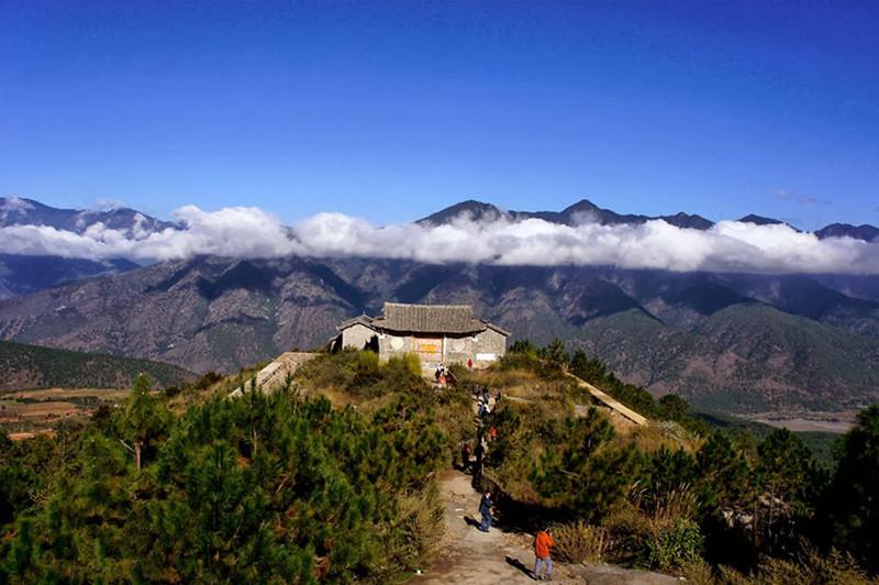 Xionggu Viewing Platform in Lijiang
