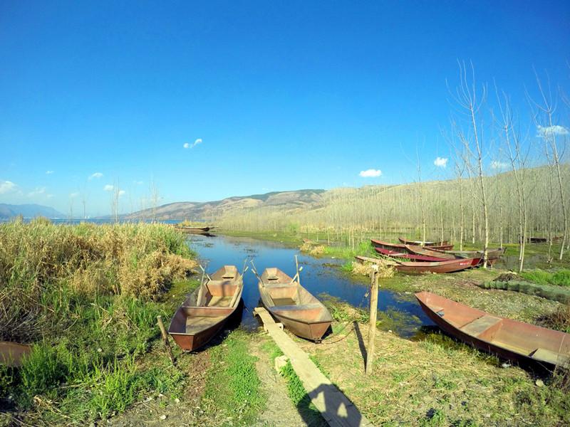 Yangzonghai Lake in Yiliang County, Kunming