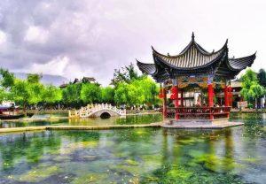 Yindu Shuixiang Scenic Area in Heqing County, Dali