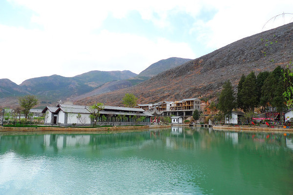 Yindu Shuixiang Scenic Area in Heqing County, Dali-05