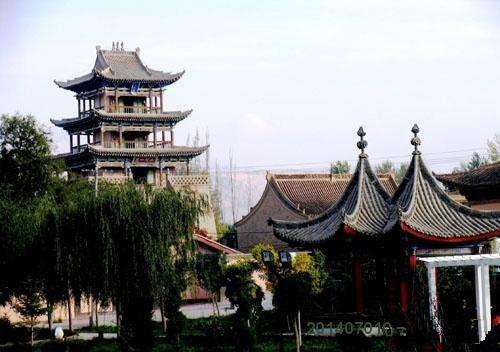 Yuhuangge (Jade Emperor) Pavillion in Yangbi County, Dali