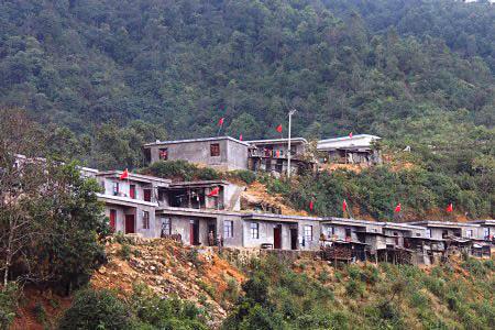 Zhemi Lahu Ethnic Town of Jinping County in Honghe Prefecture