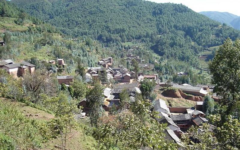 Zhongzhai Village of Qingshui Town in Tengchong City, Baoshan