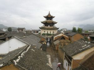Zhoucheng Old Town in Binchuan County, Dali