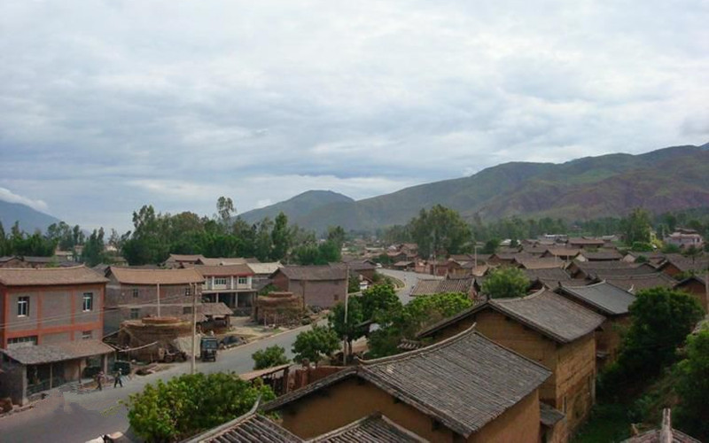 Guoyuan Nancun Village of Qina Town in Yongsheng County, Lijiang