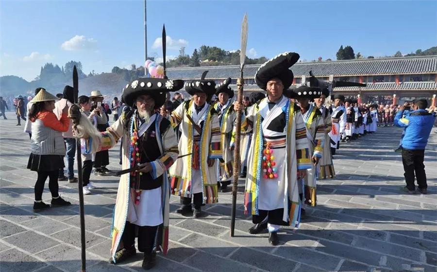 Kuoshi Festival of Lisu Ethnic Minority in Yingjiang County, Dehong-03