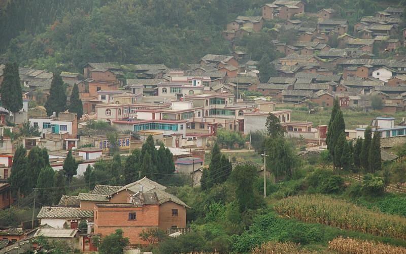 Leju Village of Tuanjie Town in Xishan District, Kunming