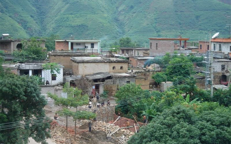 Lengdun Village of Baohe Town in Gejiu City, Honghe