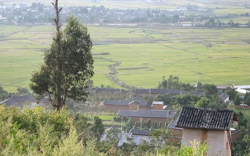 Longhua Village of Shaxi Town in Jianchuan County, Dali