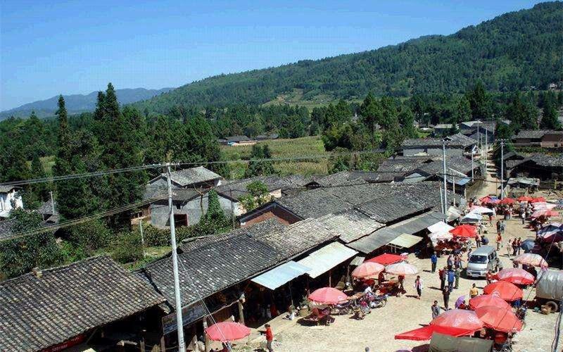 Yanjiachong Village of Zhonghe Town in Tengchong City, Baoshan