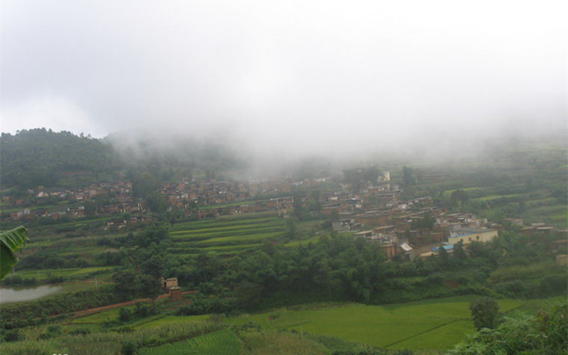 Yicibei Village of Wadie Town in Yuanjiang County, Yuxi