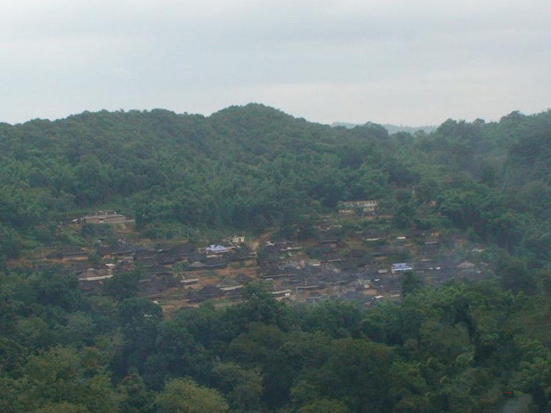 Zhanglang Bulang Ethnic Minority Village, XishuangBanna