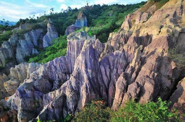 Baoxiu Earth Forest in Shiping County, Honghe
