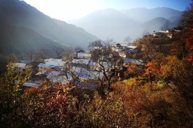 Luotong Village of Badi Town in Weixi County, Diqing