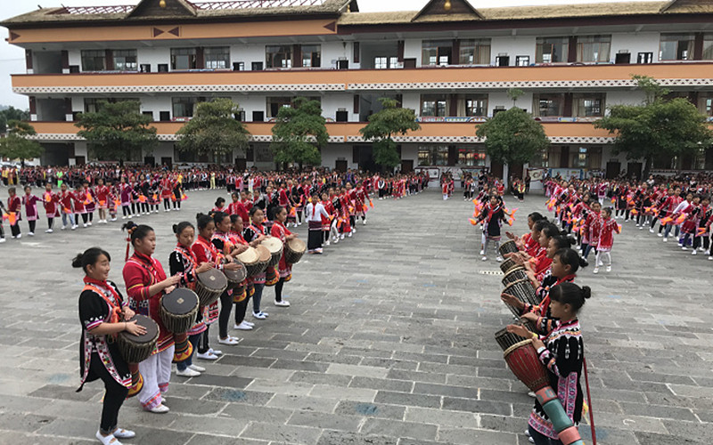 Lahu Ethnic Culture Exhibition Center in Lancang County, Puer