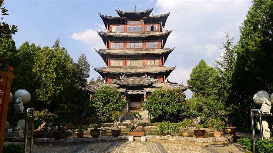 Wangu Tower, Lijiang