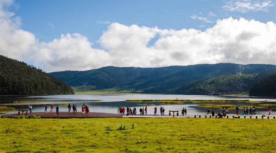 Shudu Lake in Shangrila, Diqing