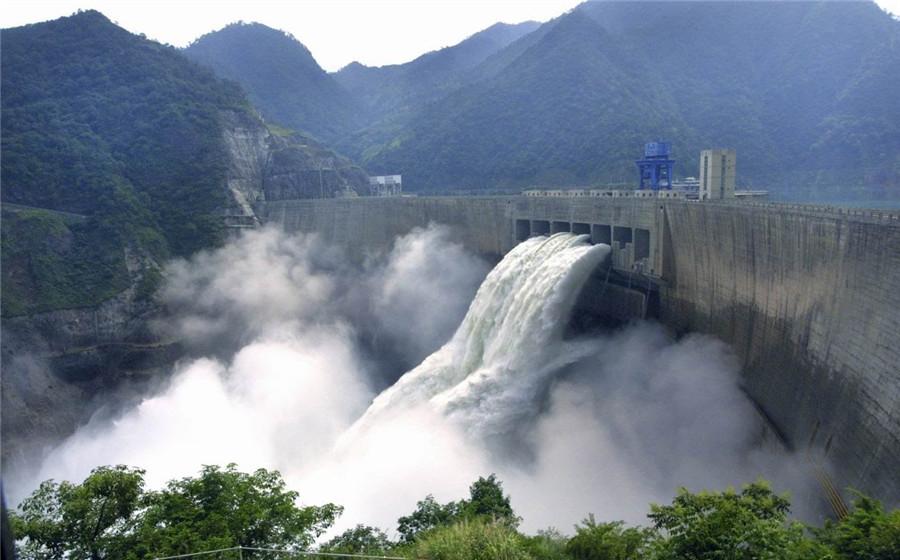 Xiaowan Hydropower Station in Fengqing County, Lincang