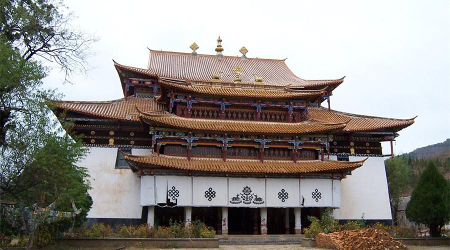 Zhamei Monastery, Lijiang
