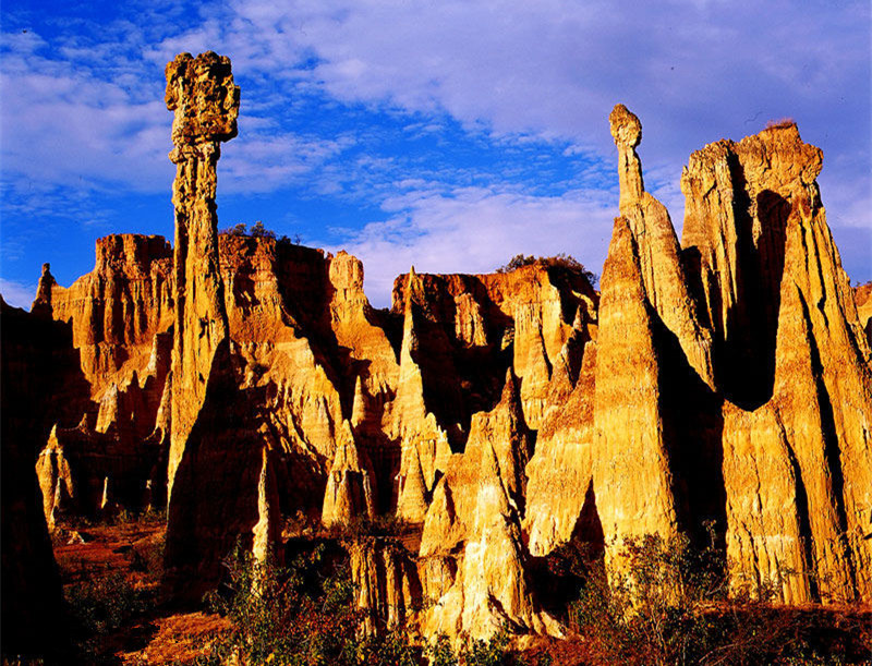 Banguo Earth Forest in Yuanmou County, Chuxiong
