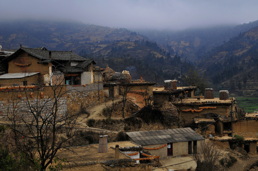 Chengzi Ancient Village in Luxi County, Honghe