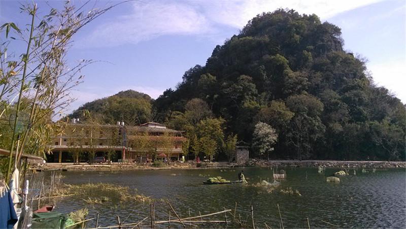 Xianrendong Village in Puzhehei, Wenshan