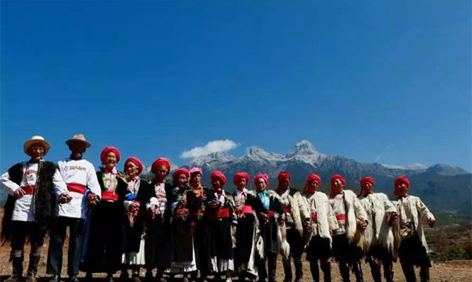 Annual mountain-worship by Naxi people in Shangri-La