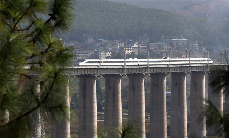 Bullet Trains in Yunnan