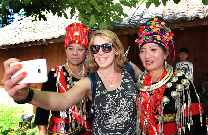 Tourist in Yunnan during Spring Festival