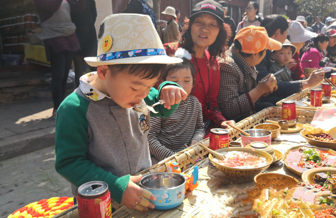 9th Weishan snack festival in Weishan County of Dali